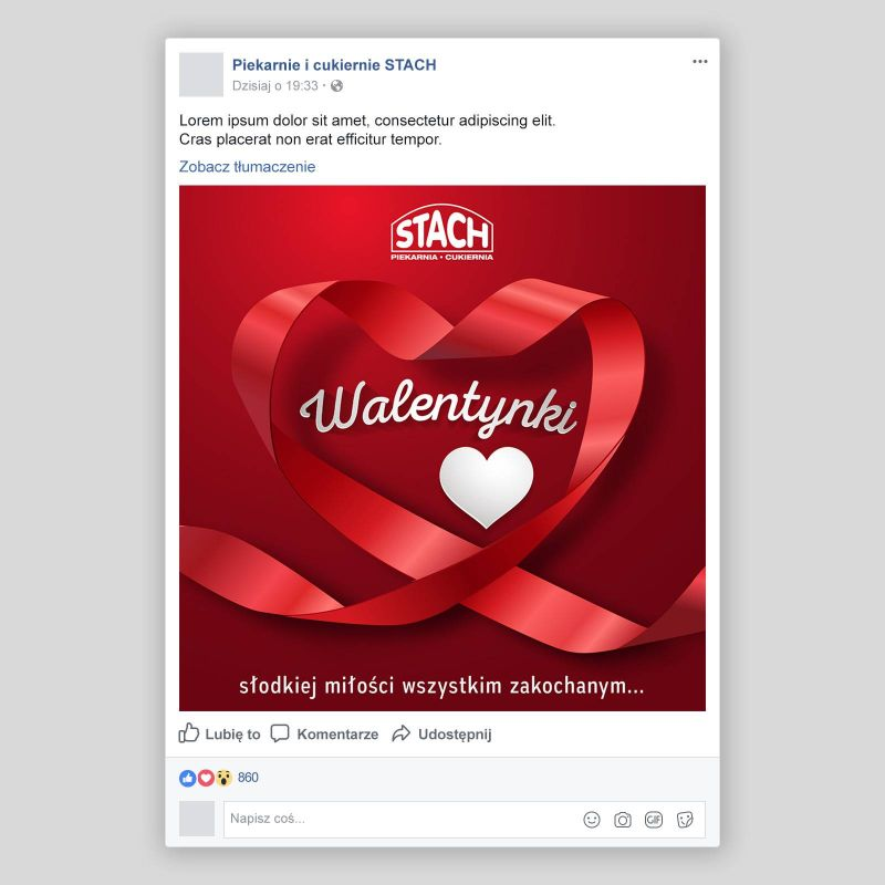 post facebook walentynki
